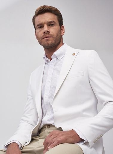 Altınyıldız Classics Ceket Beyaz